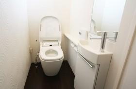 明るくさわやかなトイレ
