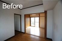 菊川市/脇屋リセット住宅寝室Before