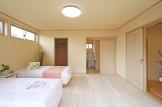 和室2間を寝室とWICに間取り変更