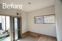 菊川市/脇屋リセット住宅玄関ホールBefore
