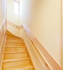 無垢階段・手すり