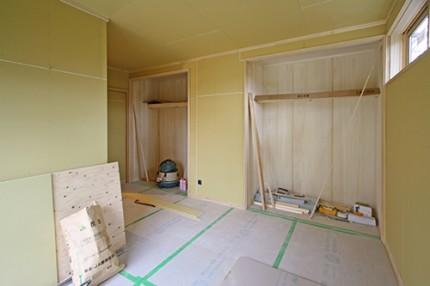 掛川市/築38年天然木リノベーション寝室の間取り変更