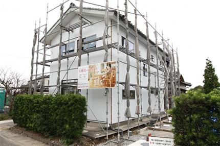 菊川リセット住宅外壁張替え