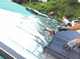 古民家屋根遮熱レフミラー
