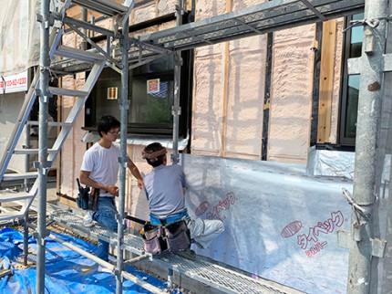 牧之原市/郷の家 通気工法+遮熱断熱シート