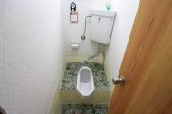 古い和式トイレ