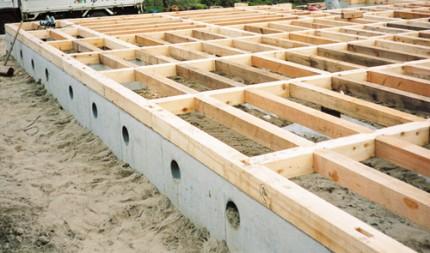 土台に最適なヒバの剛床工法